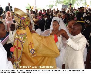 Le mariage du président Joseph Kabila a eu un rayonnement non pas seulement en Rdc mais aussi auprès des sommités du monde, tels le Pape Benoît XVI qui a
